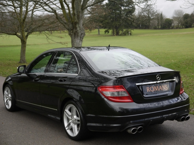 mercedes benz c class c320 cdi sport auto amg bodykit 33 000 miles 2008 08 romans of st. Black Bedroom Furniture Sets. Home Design Ideas