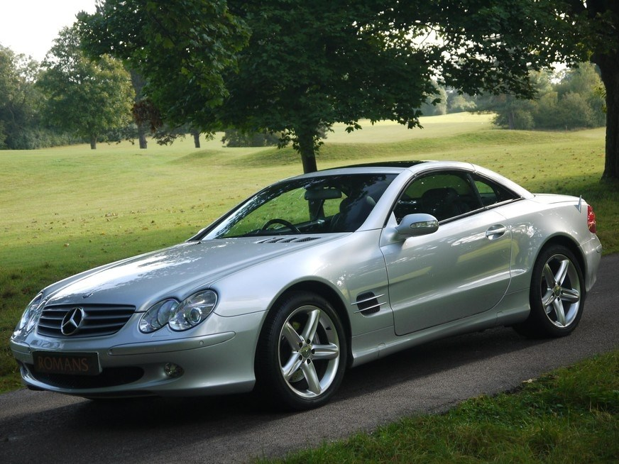 Mercedes benz sl500 auto panoramic roof 2 yr warranty for Mercedes benz panoramic roof