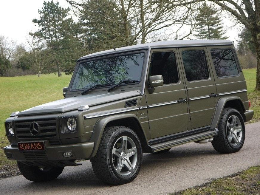 g55 amg_Mercedes-Benz G CLASS G55 AMG V8 - HUGE SPECIFICATION - 3,200 miles for Sale
