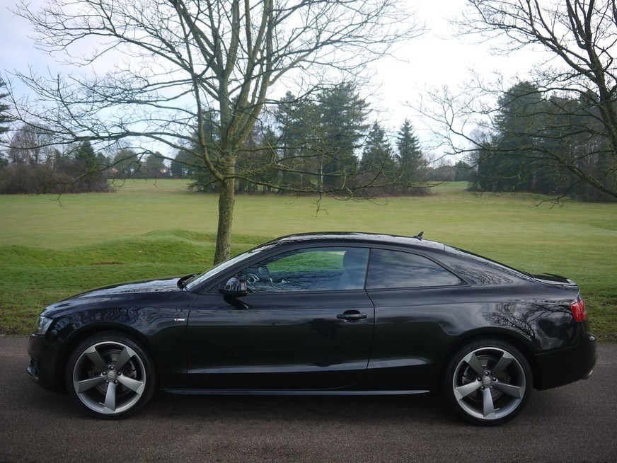 audi a5 2 7 tdi black edition coupe multitronic 20 000 miles for sale. Black Bedroom Furniture Sets. Home Design Ideas