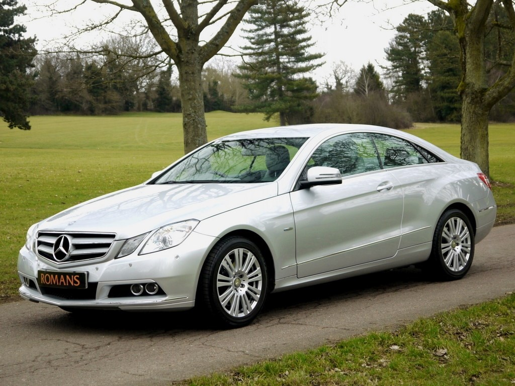 Mercedes benz e350 cgi coupe automatic 1 owner for sale for Mercedes benz coupes list