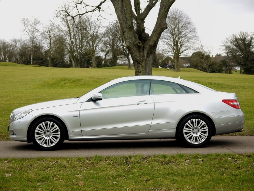 Mercedes benz e350 cgi coupe automatic 1 owner for sale for Mercedes benz sale private owner