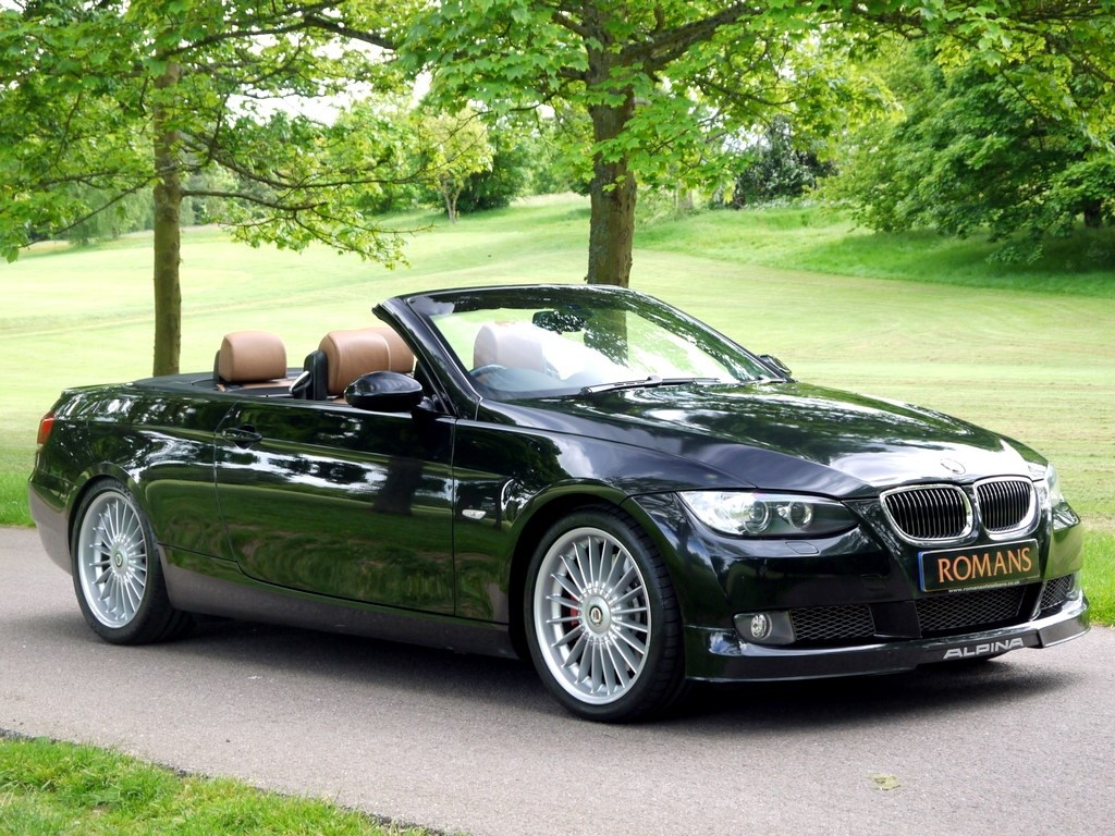 bmw alpina b3 3 0 bi turbo convertible rare vehicle for sale. Black Bedroom Furniture Sets. Home Design Ideas