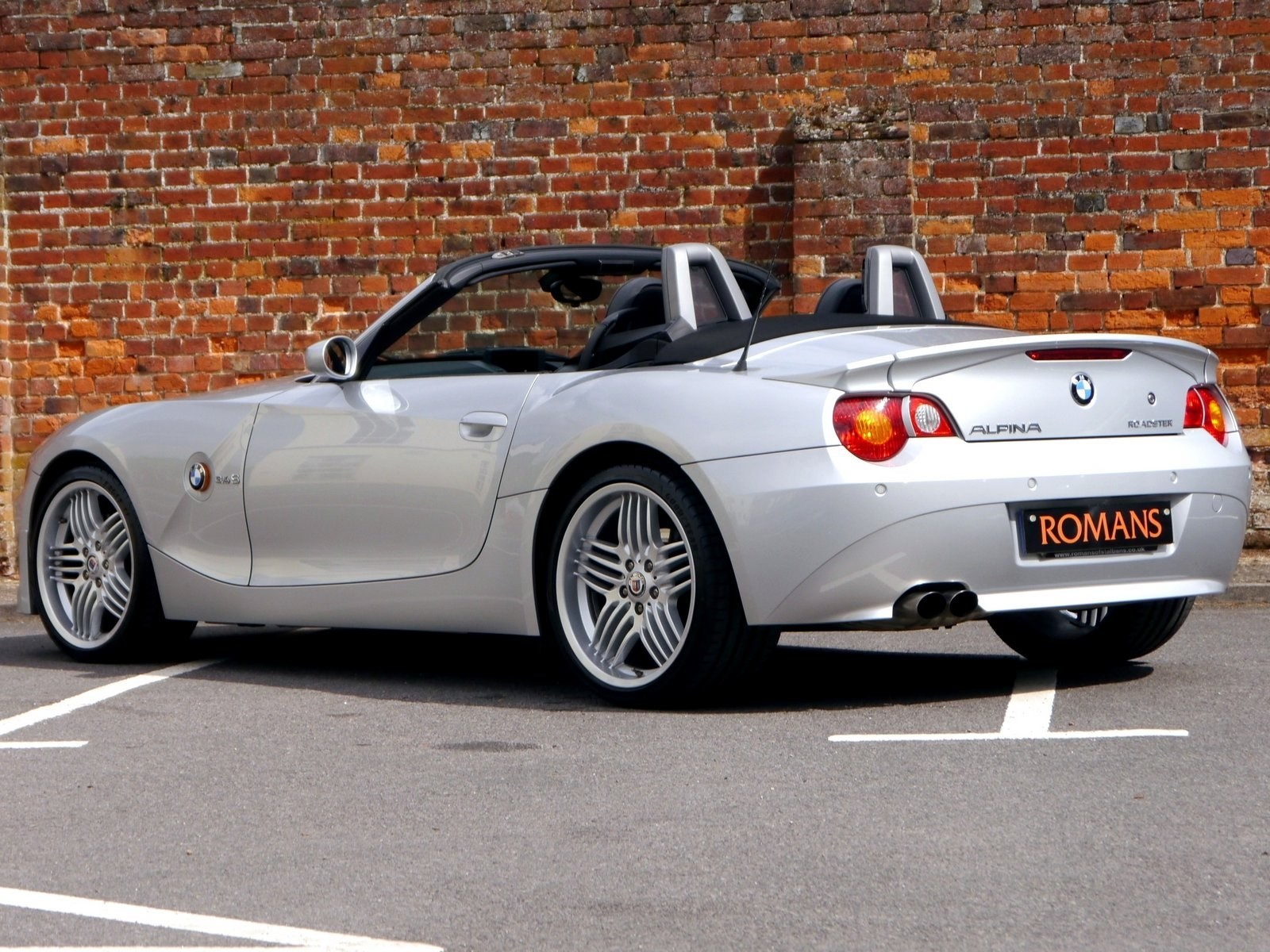 Bmw Alpina Roadster 3 4 S Lux Rare Vehicle Bmw Fsh For