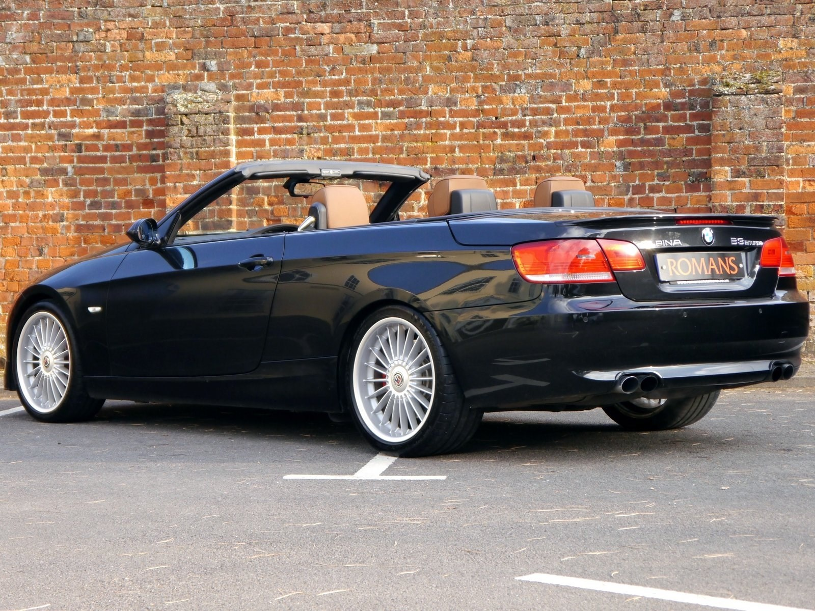 bmw alpina b3 3 0 bi turbo convertible rare colour combination for sale. Black Bedroom Furniture Sets. Home Design Ideas