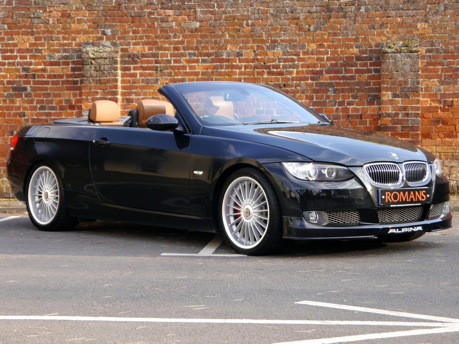 BMW Alpina B3 3.0 Bi-Turbo Convertible - Rare Colour Combination for ...