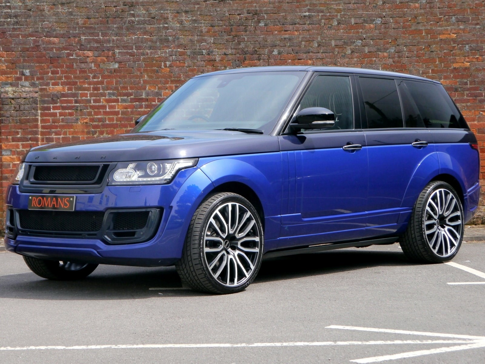 Tyres St Albans >> Land Rover Range Rover Vogue SE 4.4 SDV8 - Project KAHN Pace Car for Sale