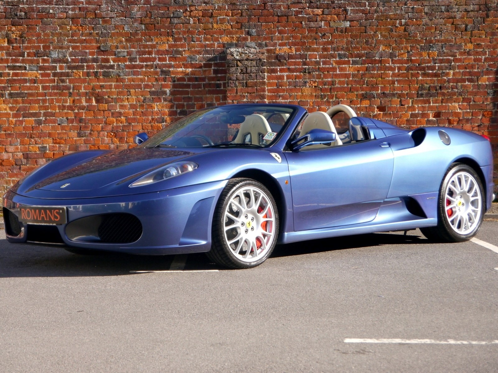 Ferrari F430 Spider F1 Ceramic Brakes Challenge Stradale Alloy Wheels Carbon Seats For Sale