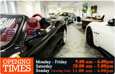 Romans Showroom and Opening times